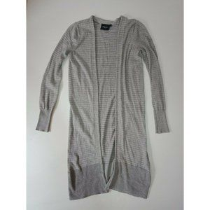 Jeans West Grey and Silver Knit Cardigan xS